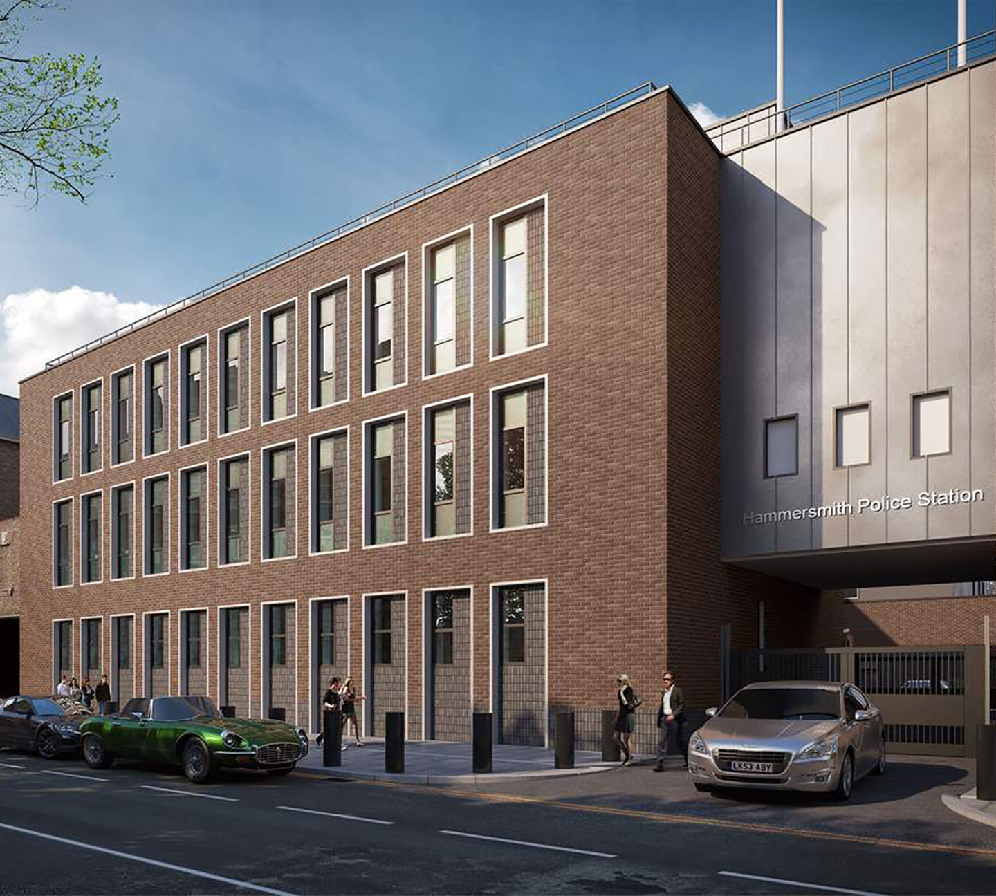 Wates Group: Hammersmith Police Station